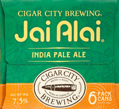 Cigar City Brewing Jai Alai India Pale Ale Perspective: right