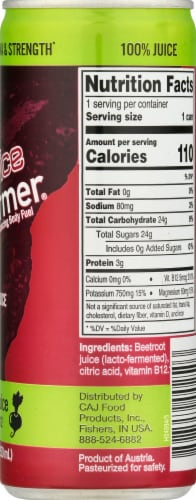 Biotta Beet Performer Beet Juice with B-12 Perspective: right
