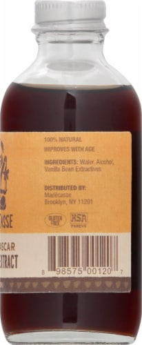 Madecasse Madagascar Pure Vanilla Extract Perspective: right