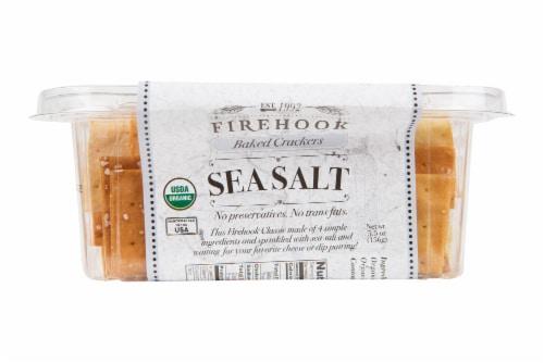 Firehook Sea Salt Mediterranean Baked Crackers Perspective: right