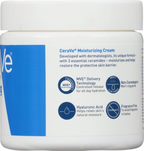 CeraVe Moisturizing Cream Perspective: right