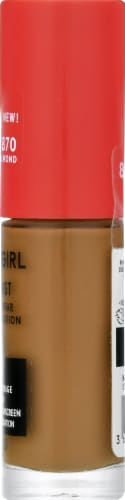 CoverGirl Outlast Extreme Wear 870 Toasted Almond Foundation Perspective: right