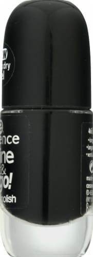 Essence Shine Last & Go! Black is Back Gel Nail Polish Perspective: right