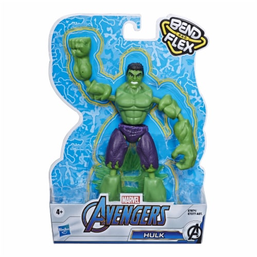 Hasbro Marvel Avengers Bend and Flex Action Figure - Assorted Perspective: right