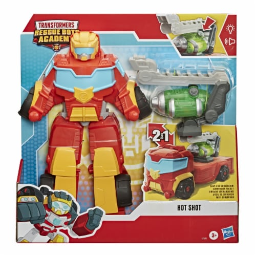 Playskool Heroes Transformers Rescue Bots Academy Hot Shot Action Figure Perspective: right