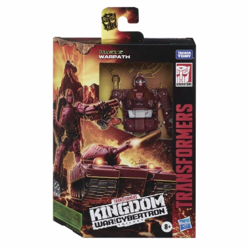 Hasbro Transformers Generations War for Cybertron: Kingdom Deluxe Class Action Figure - Assorted Perspective: right