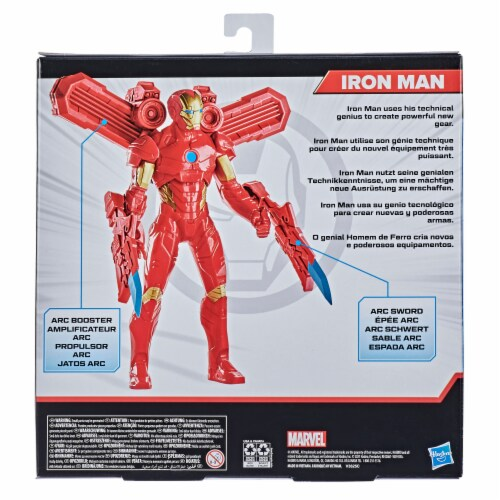 Hasbro Marvel Iron Man Action Figure and Gear Perspective: right