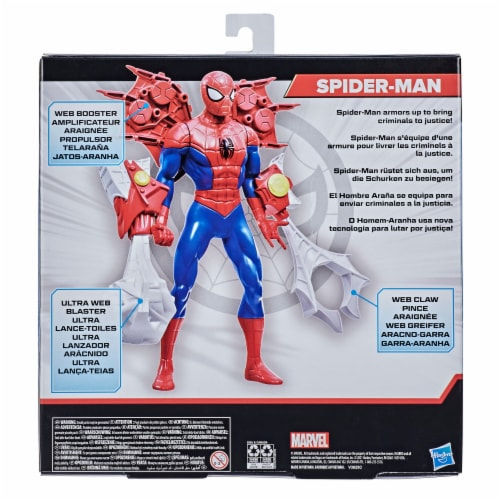Hasbro Marvel Spider-Man Action Figure and Gear Perspective: right