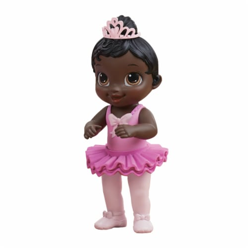 Habro Baby Alive Sweet Ballerina Black Hair Baby Doll - Pink Perspective: right