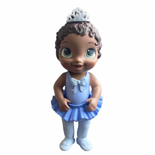 Hasbro Baby Alive Sweet Ballerina Brown Hair Baby Doll - Blue Perspective: right