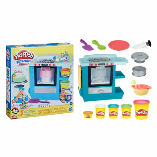 Play-Doh Kitchen Creations Rising Cake Oven Playset Perspective: right