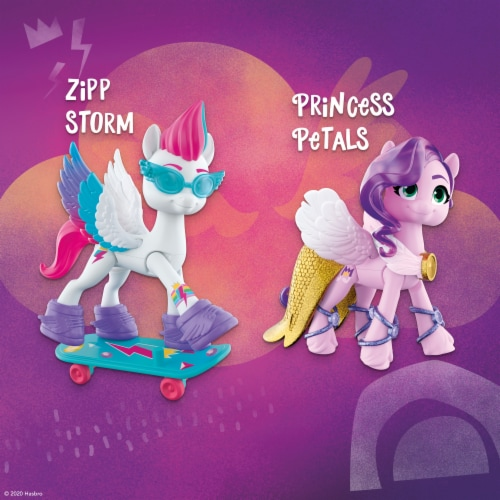 Hasbro My Little Pony: A New Generation Crystal Adventure Sisters Playset Perspective: right