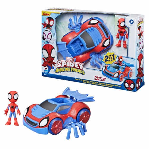 Hasbro Disney Junior Marvel Spidey and His Amazing Friends Web-Crawler And Spidey Perspective: right