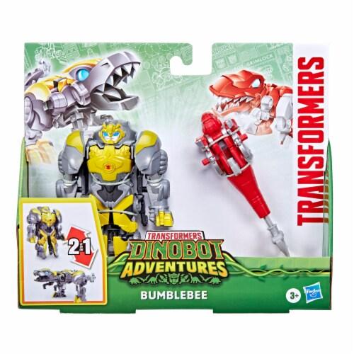 Hasbro Transformers Dinobot Adventures Bumblebee Figures Perspective: right