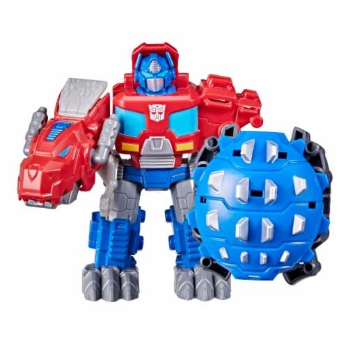 Hasbro Transformers Dinobot Adventures Optimus Prime Figures Perspective: right