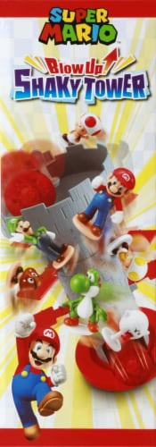 Epoch Super Mario Blow Up Shaky Tower Game Perspective: right