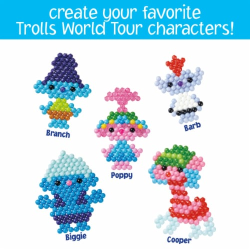 Aquabeads Trolls World Tour Character Set Perspective: right