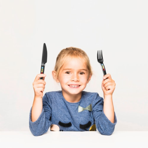 BergHOFF Children's Swipswap Flatware Set Perspective: right