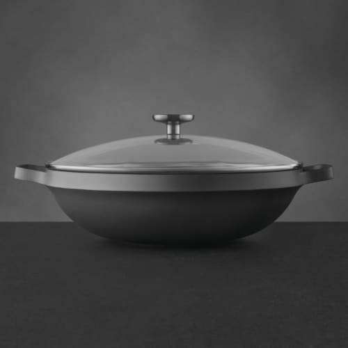 BergHOFF Gem Cast Aluminum Nonstick Covered Chinese Wok Perspective: right