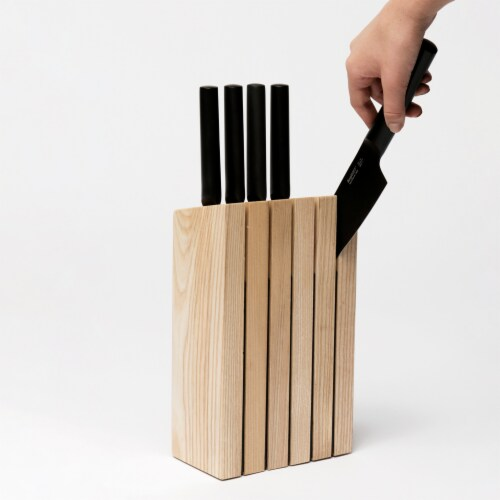 BergHOFF Ron Wooden Knife Block Perspective: right