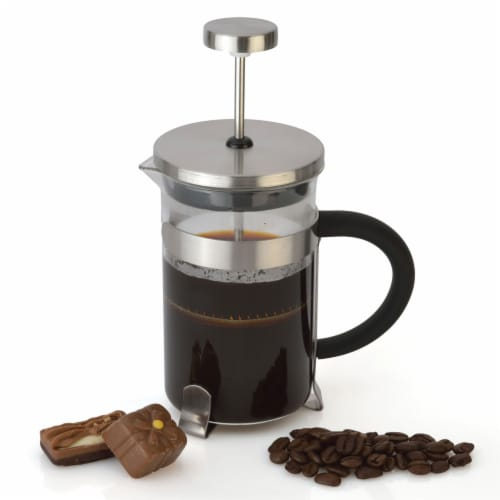 BergHOFF Stainless Steel Coffee & Tea French Press Perspective: right