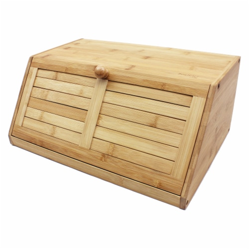 BergHOFF Bamboo Bread Box Perspective: right