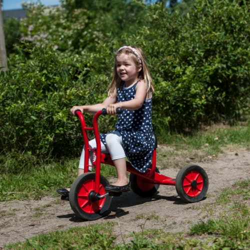 Winther Small Viking Tricycle - Red Perspective: right