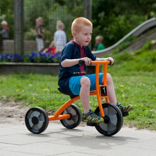 Winther Medium Circleline Tricycle - Orange Perspective: right