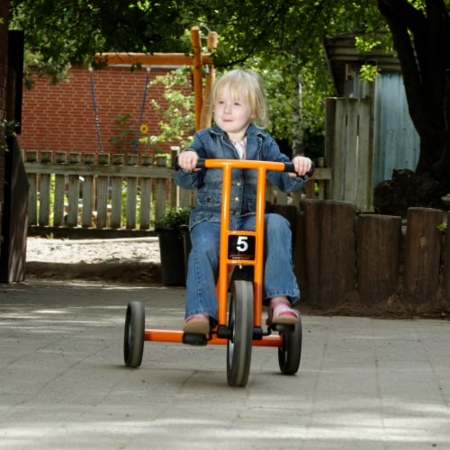 Winther Large Circleline Tricycle - Orange Perspective: right