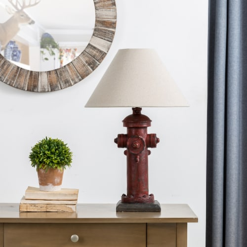 Glitzhome Hydrant Table Lamp Perspective: right