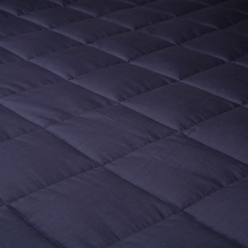Glitzhome Cotton Quilted Polyester Filled Weighted Blanket Perspective: right