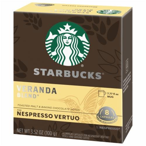 Starbucks Nespresso Veranda Blend Single Serve Coffee Capsules Perspective: right