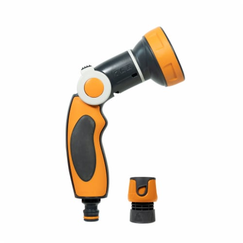 G.F. Garden 8 Jet Easy Plus Variable Flow Rate Pistol Nozzle Perspective: right