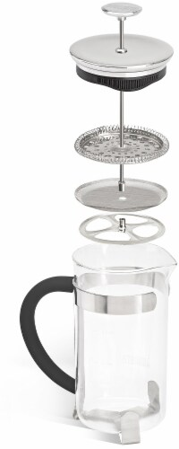 Bialetti Simplicity French Coffee Press - Black Perspective: right