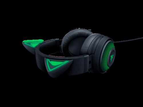 Razer Kraken Kitty Black Chroma USB Gaming Headset Perspective: right