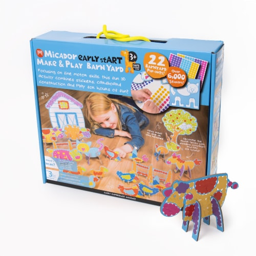 Micador Early Start Make & Play Barnyard Set Perspective: right