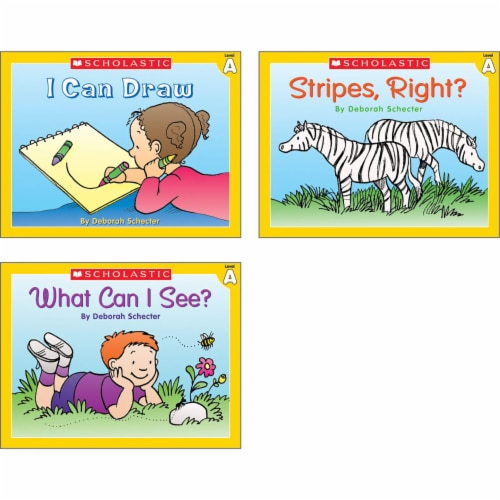 Scholastic Little Leveled Readers Level A Box Set Perspective: right
