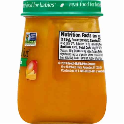 Beech-Nut Naturals Mango Stage 2 Baby Food Perspective: right