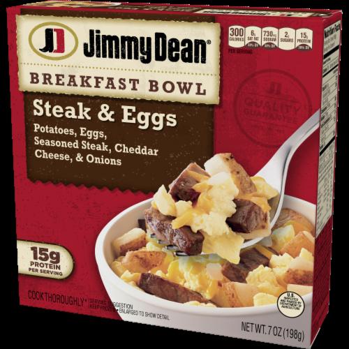 Jimmy Dean Steak & Eggs Breakfast Bowl Case Perspective: right