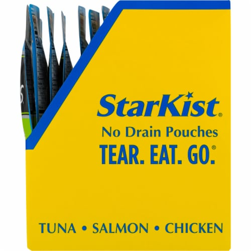 StarKist Tuna Creations Herb & Garlic Lightly Seasoned Premium Tuna Perspective: right