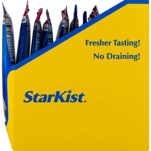StarKist Chunk Light Water Pouch Perspective: right