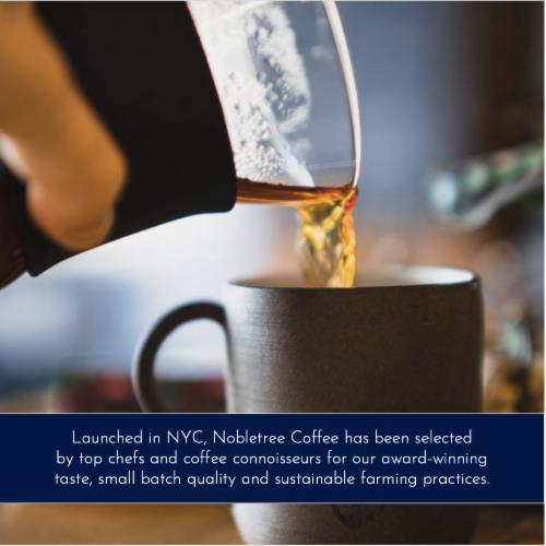 """Nobletree """"Reverence"""" Espresso Roast Ground Coffee, 20 oz Perspective: right"""