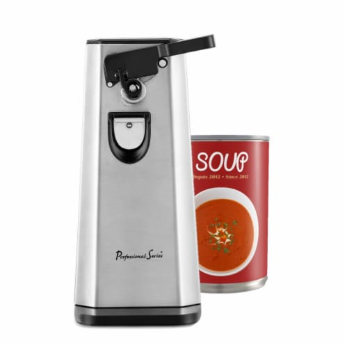 Professional Series Can Opener and Bottle Opener Stainless Steel Perspective: right