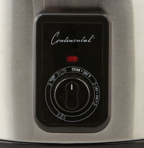 Continental 5 Liter Deep Fryer and Multi Cooker Stainless Steel Perspective: right