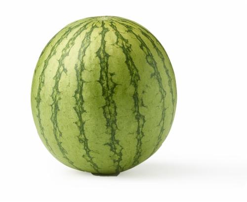 Mini Seedless Watermelon Perspective: top