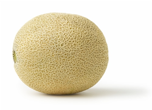 Cantaloupe Melons Perspective: top