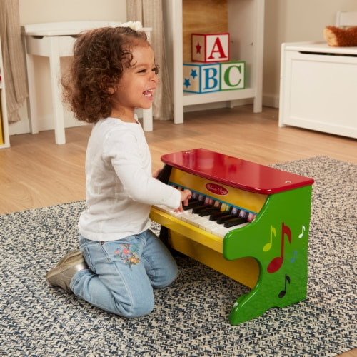 Melissa and Doug® Learn-to-Play Piano Perspective: top
