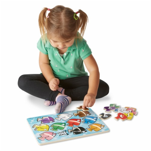 Meliisa & Doug® Mix N Match Puzzle Bundle Perspective: top