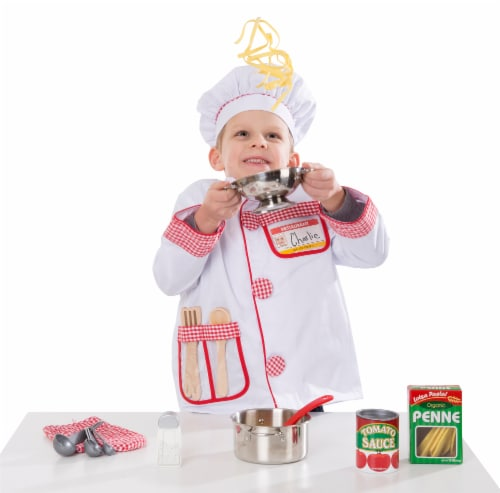 Melissa & Doug® Let's Play House! Stainless Steel Pots and Pans Playset Perspective: top