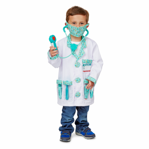 Melissa and Doug® Doctor Role Play Costume Set Perspective: top